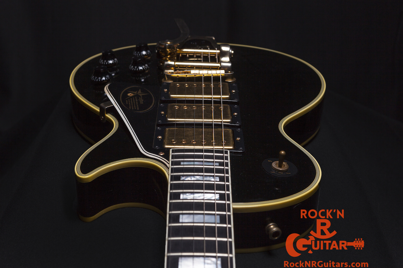 Les Paul Black Beauty Wiring Diagram : Black beauty epiphone les paul wiring diagram