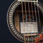Martin-OM-ECHF-Eric-Clapton-Navy-Blues-with-electronics-Limited-Edition-number-116.11