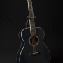 Martin-OM-ECHF-Eric-Clapton-Navy-Blues-with-electronics-Limited-Edition-number-116.9